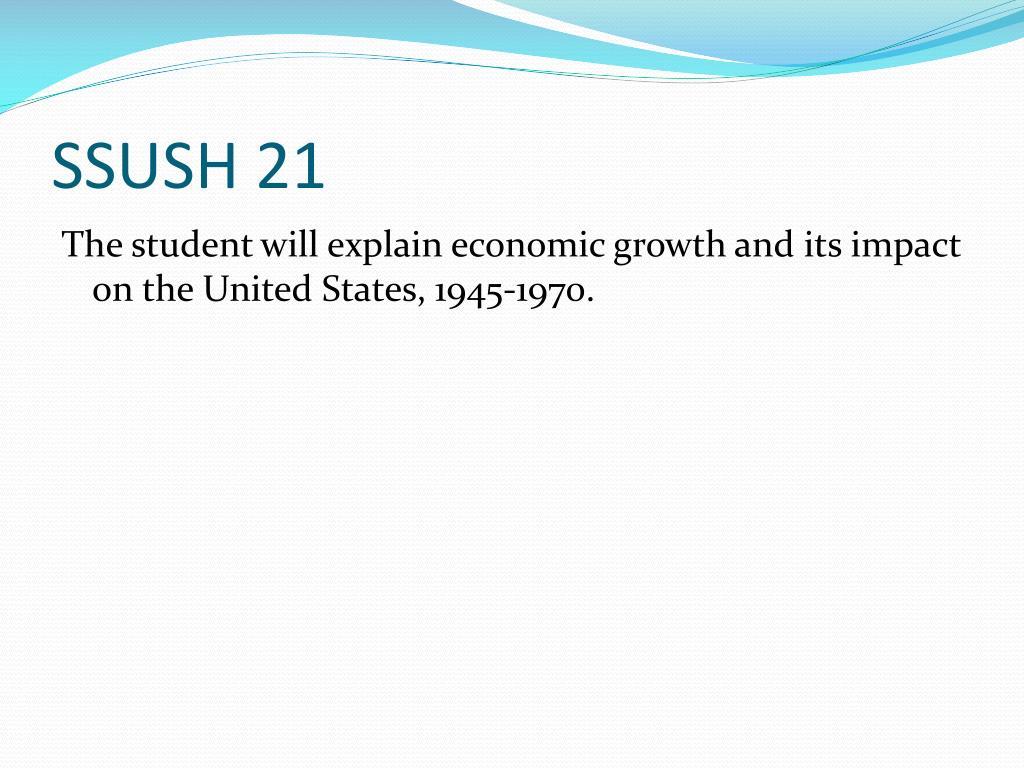 SSUSH 21