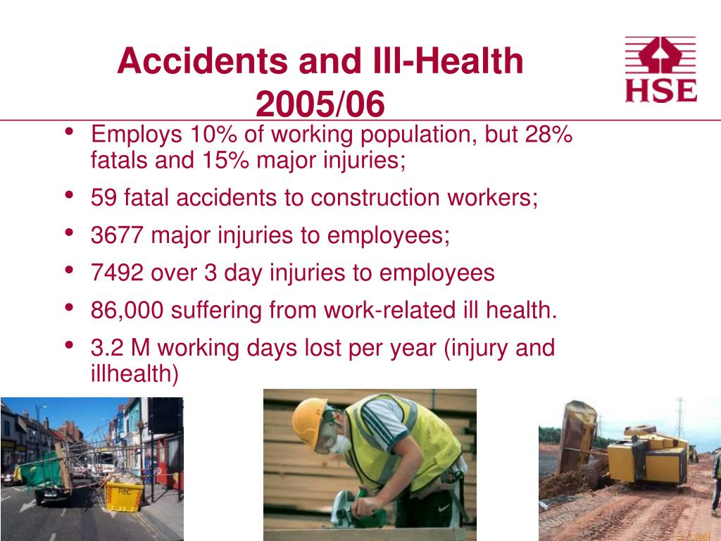 Accidents and Ill-Health