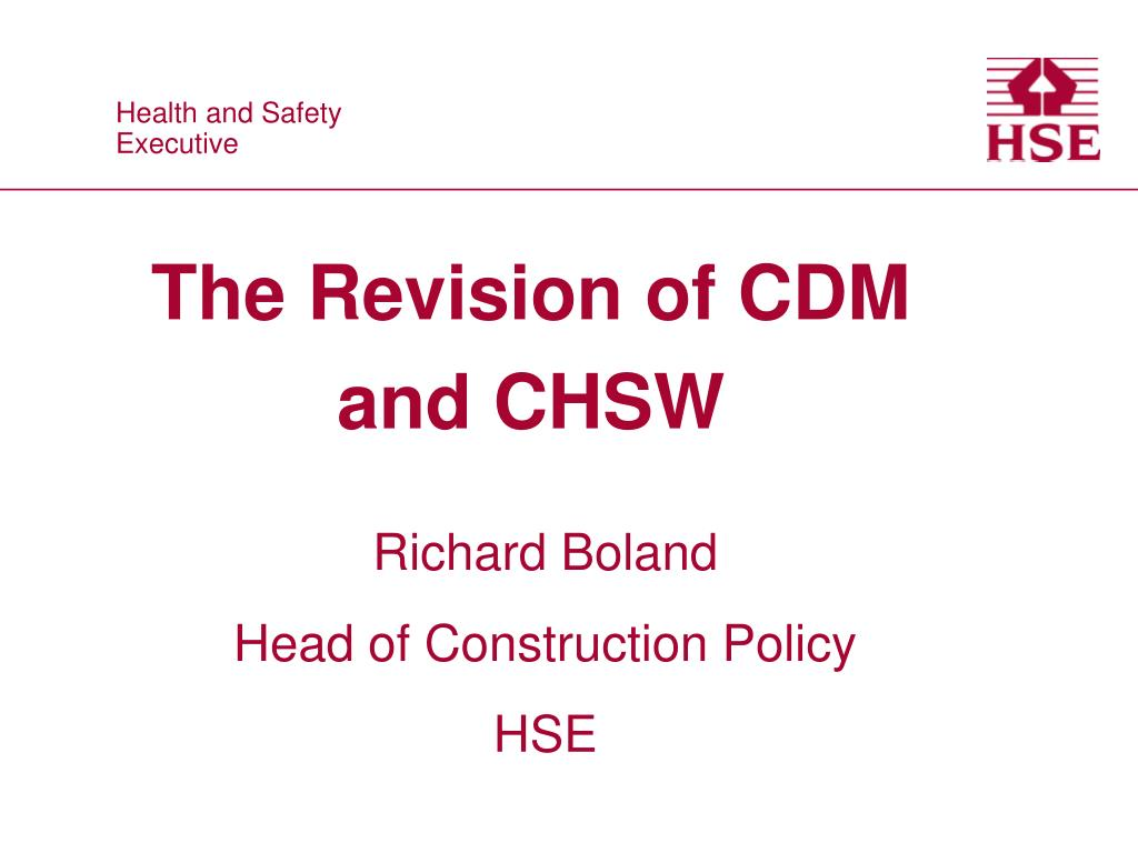 The Revision of CDM and CHSW