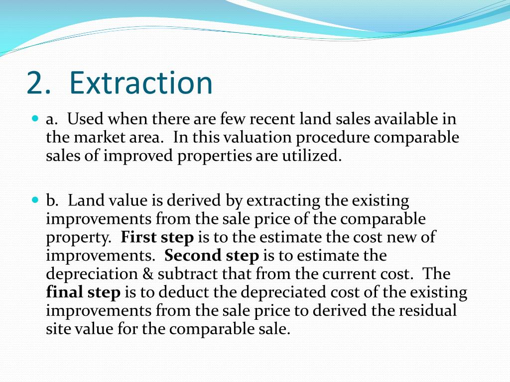 2.  Extraction