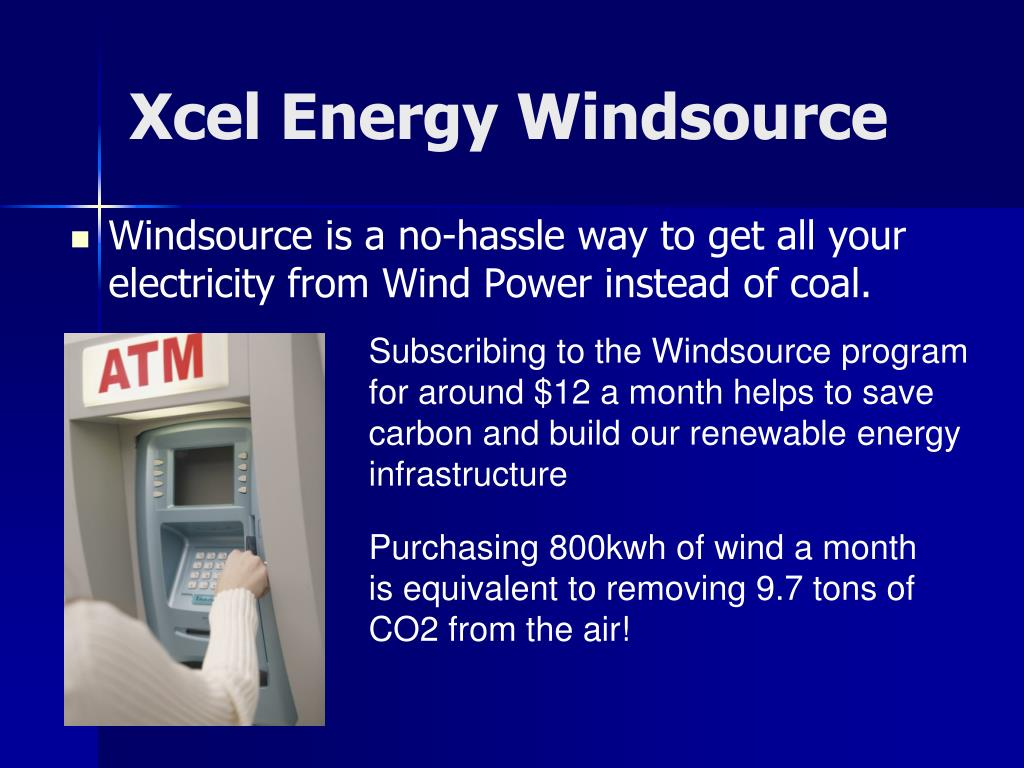 Xcel Energy Windsource