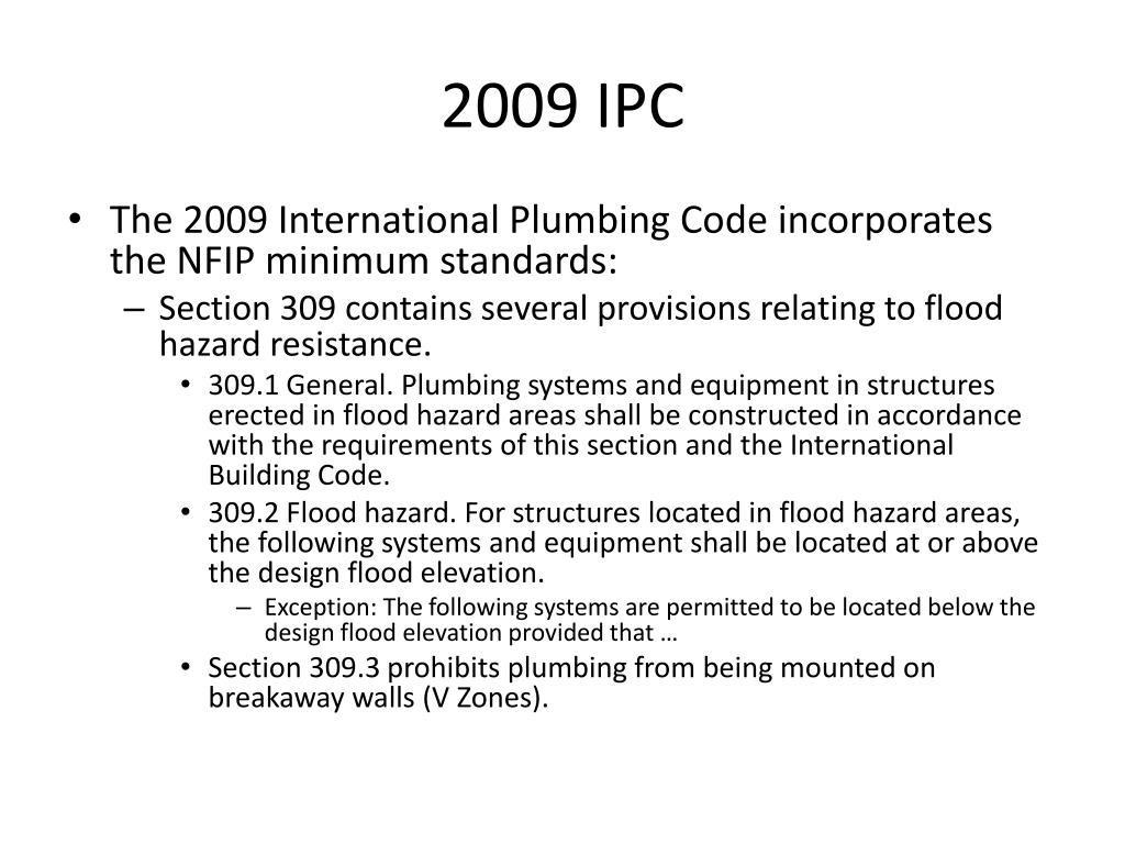 2009 IPC