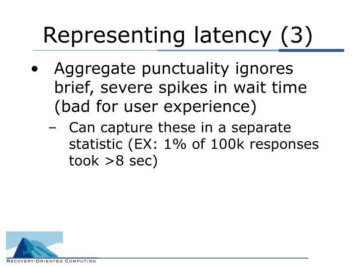 Representing latency (3)