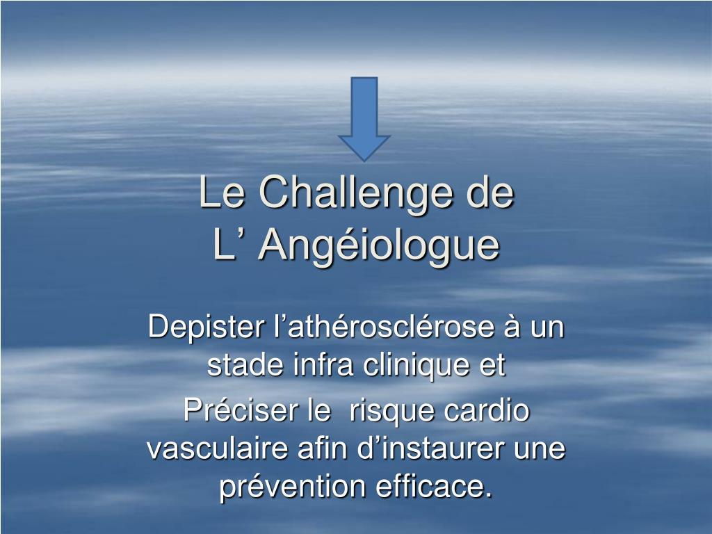 Le Challenge de