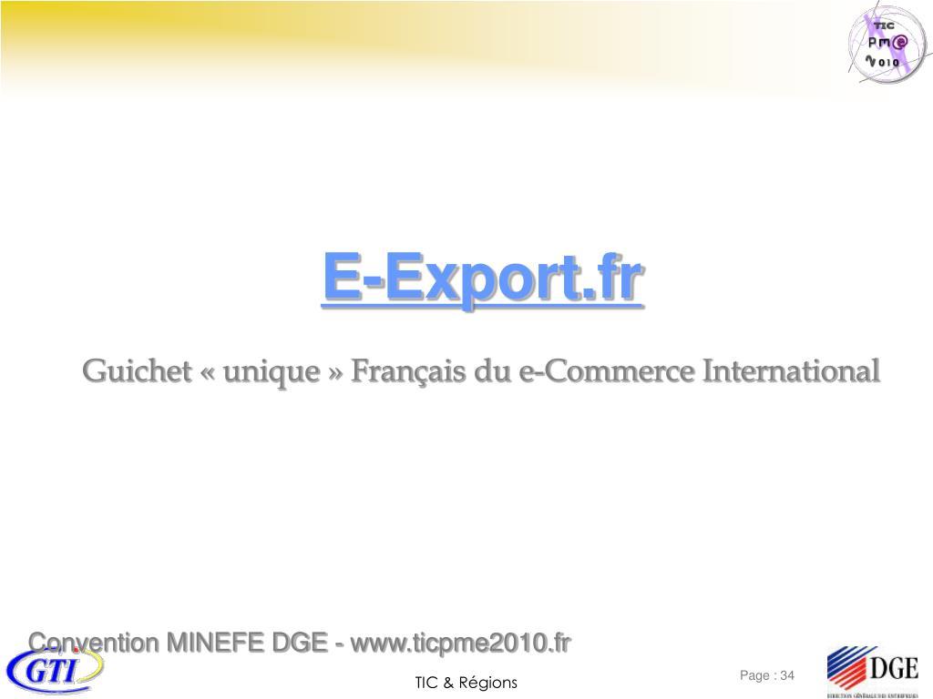 E-Export.fr