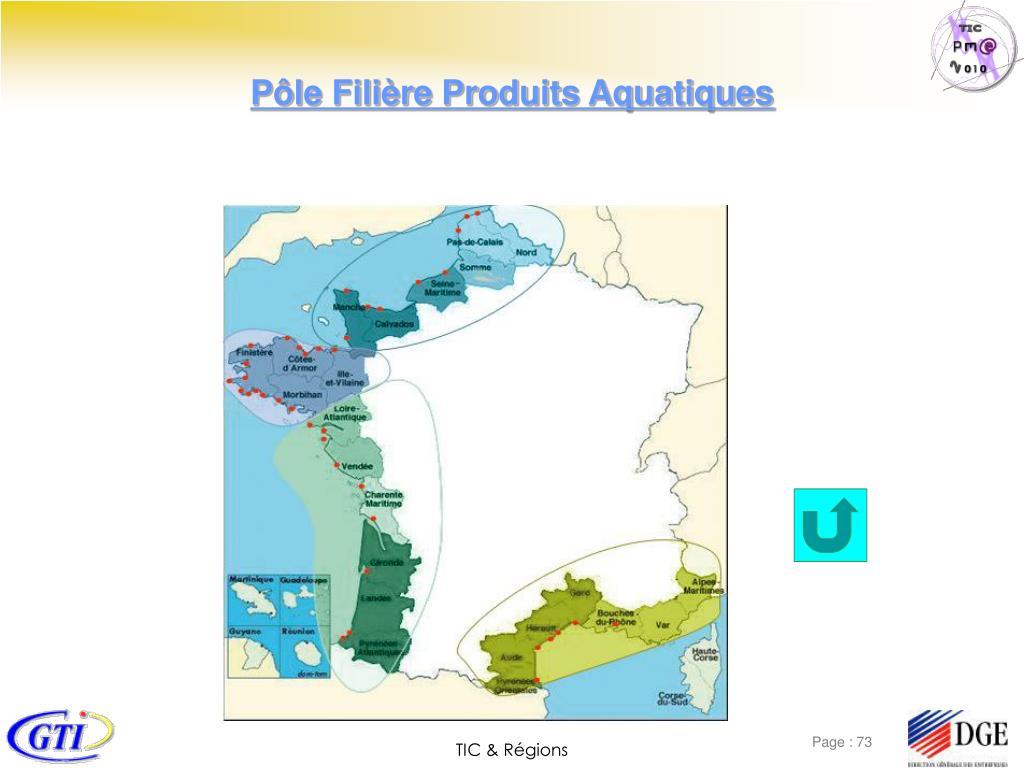 Pôle Filière Produits Aquatiques
