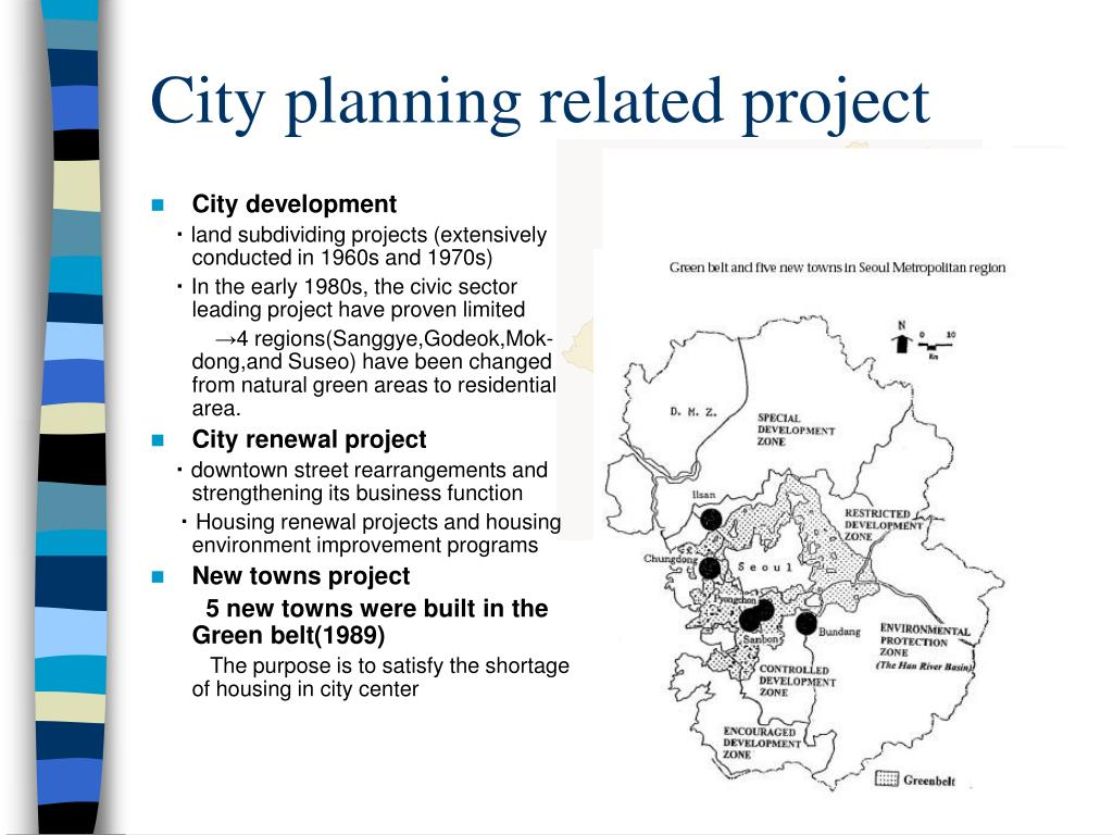 City planning related project