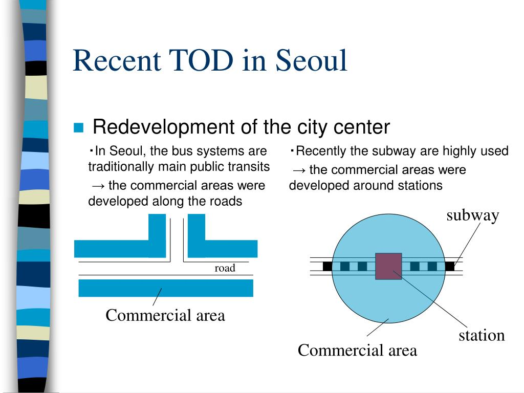 Recent TOD in Seoul