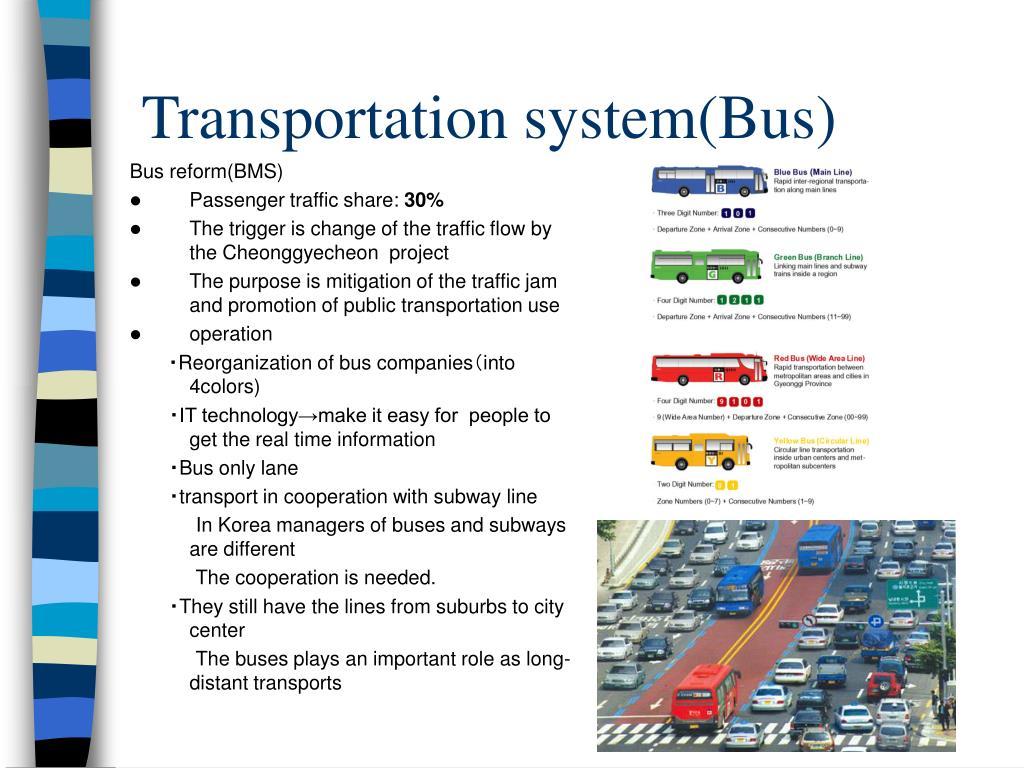 Transportation system(Bus)