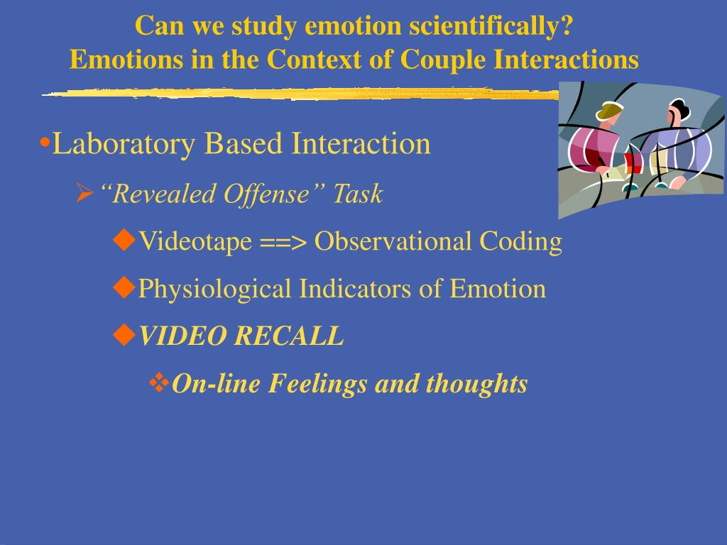 Can we study emotion scientifically?