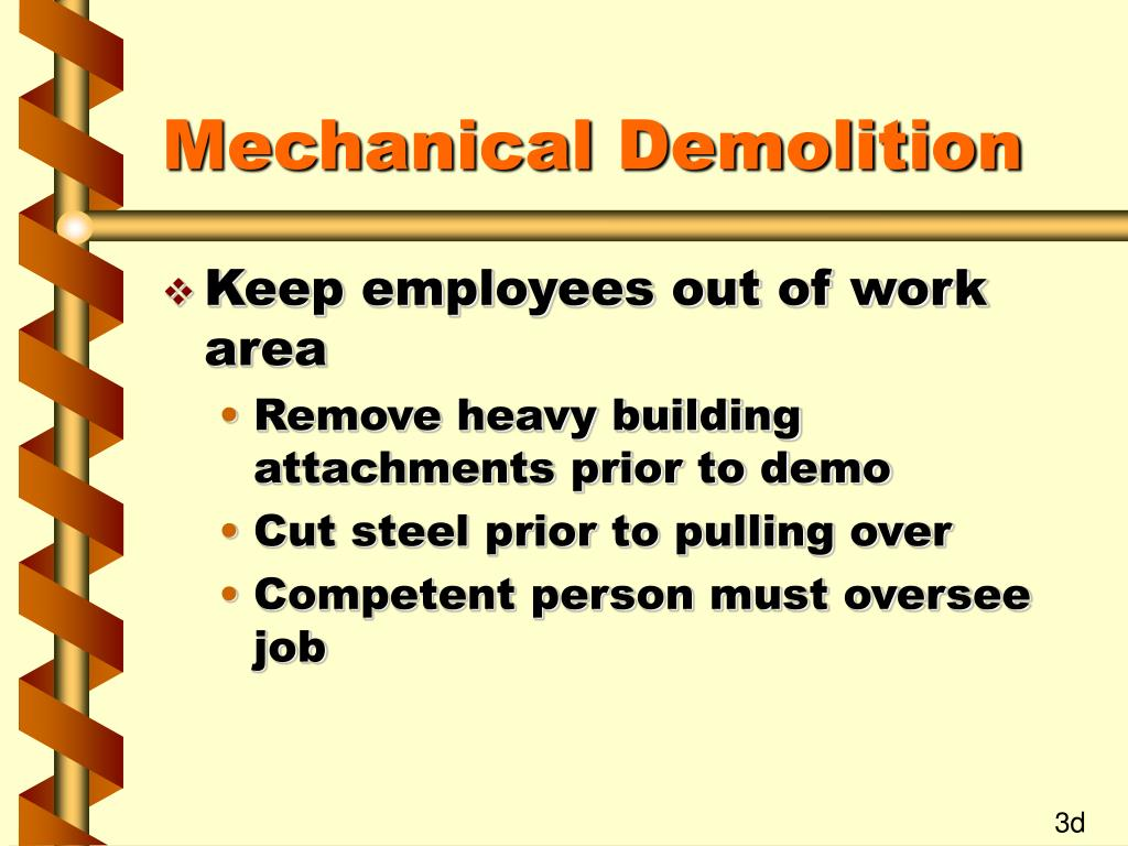 Mechanical Demolition
