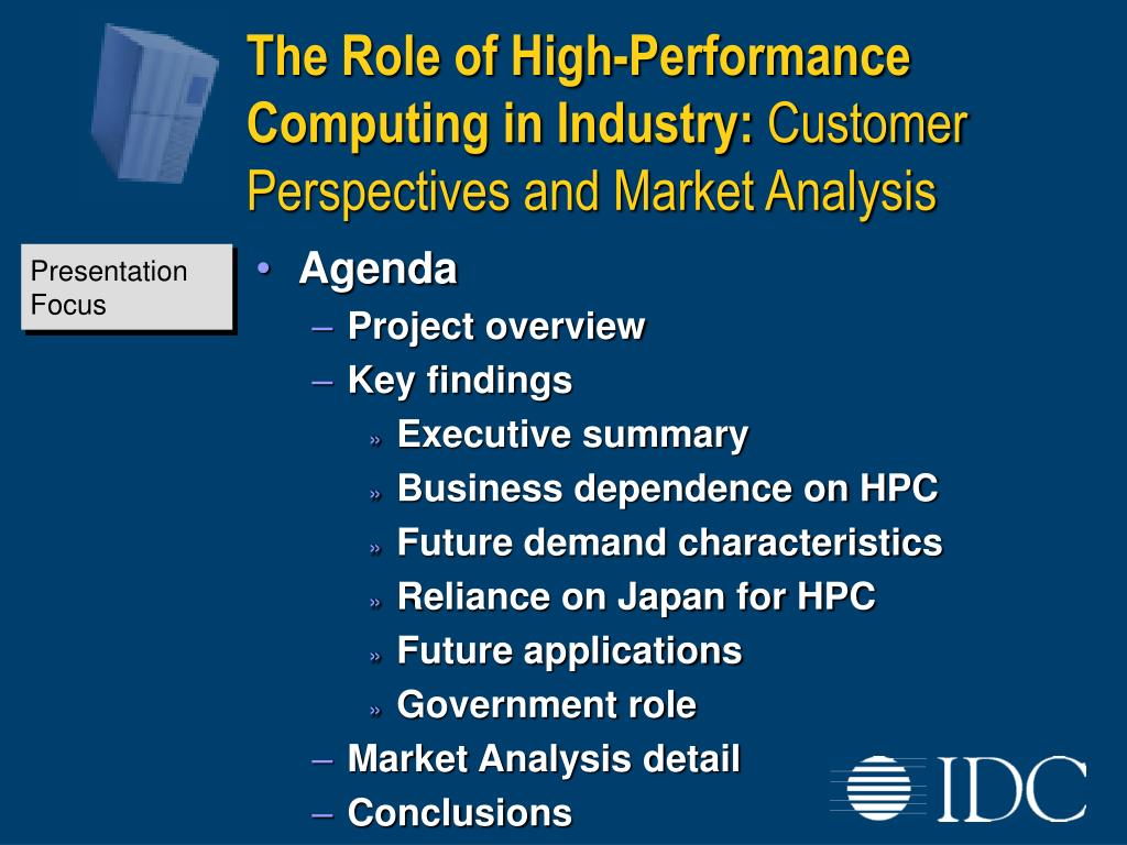 The Role of High-Performance Computing in Industry: