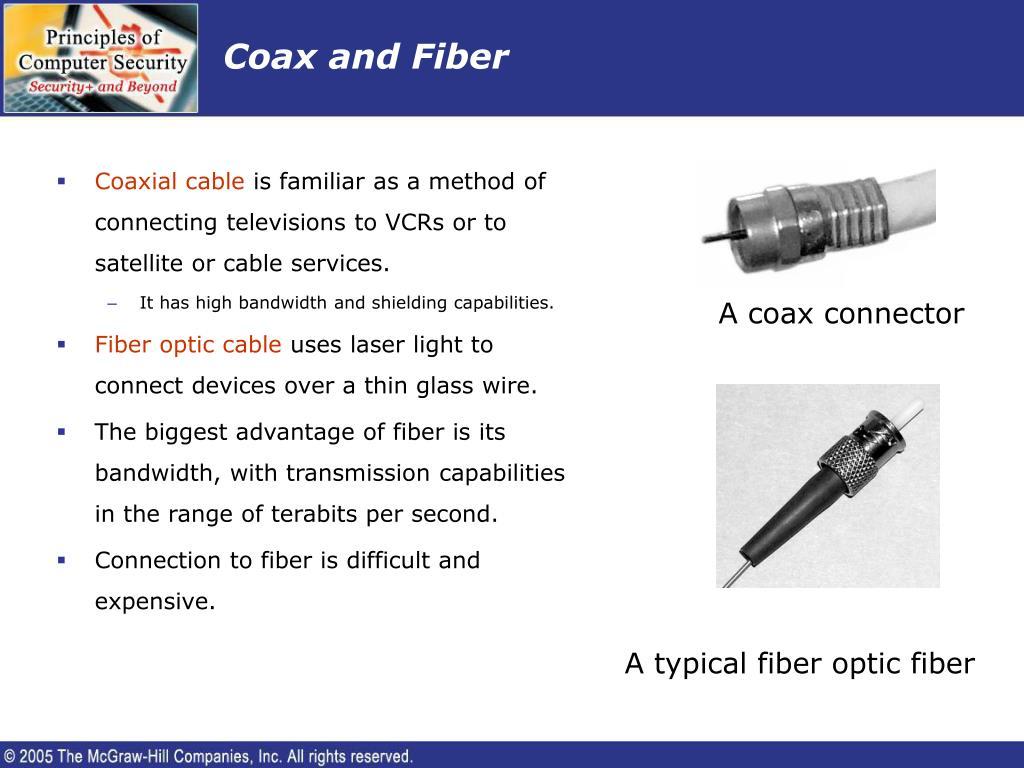 Coax and Fiber