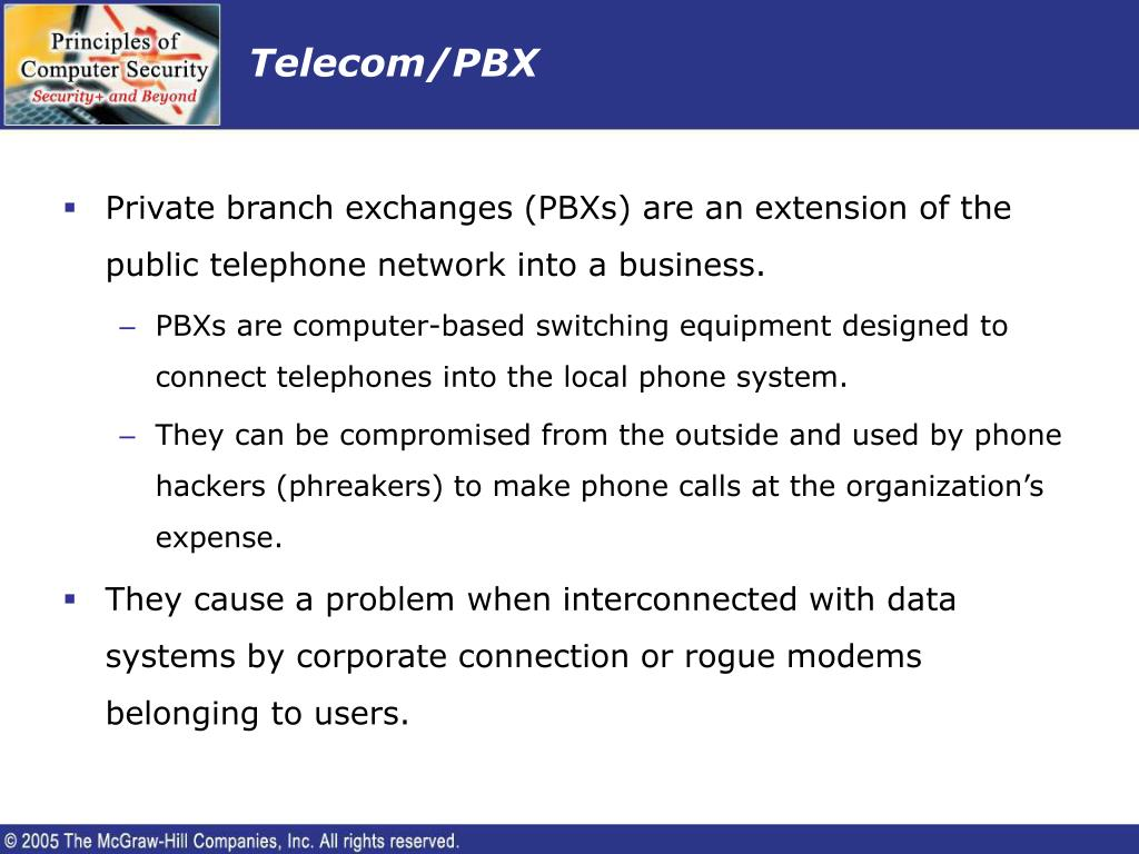 Telecom/PBX
