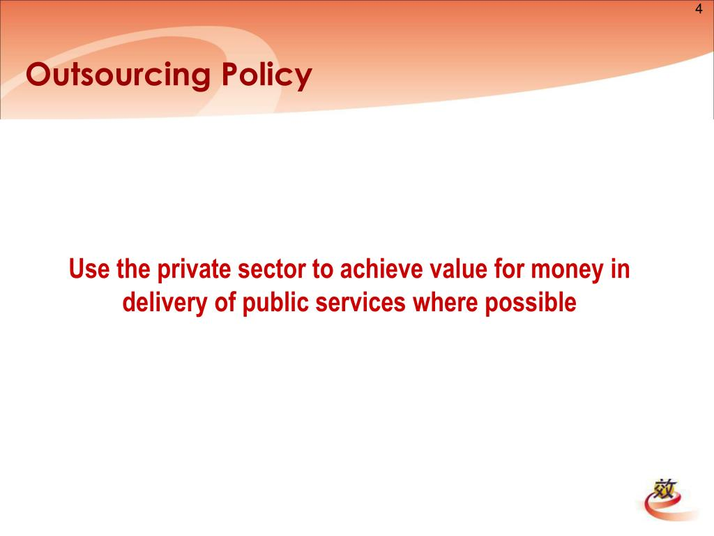 Outsourcing Policy