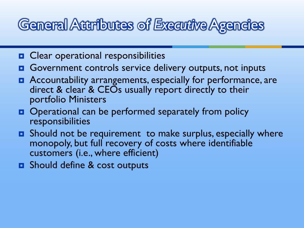 General Attributes of