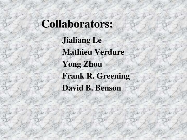 Collaborators: