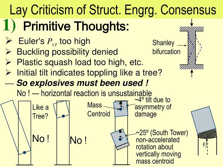 Lay Criticism of Struct. Engrg. Consensus