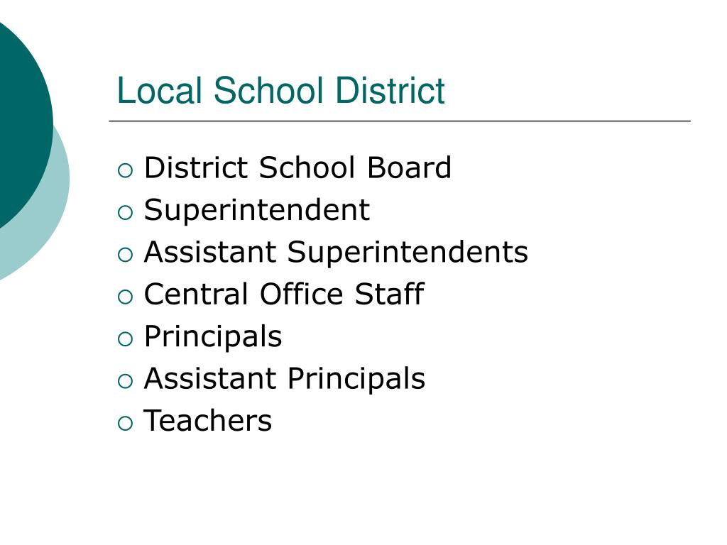 Local School District