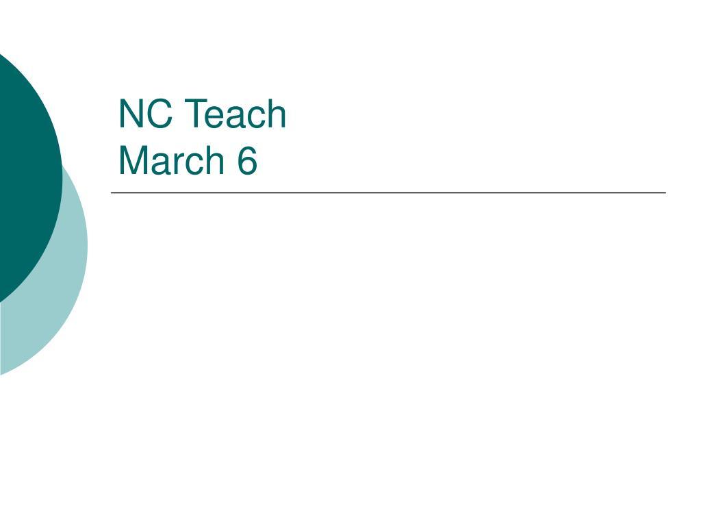 NC Teach