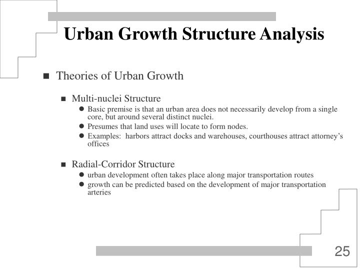 Urban Growth Structure Analysis