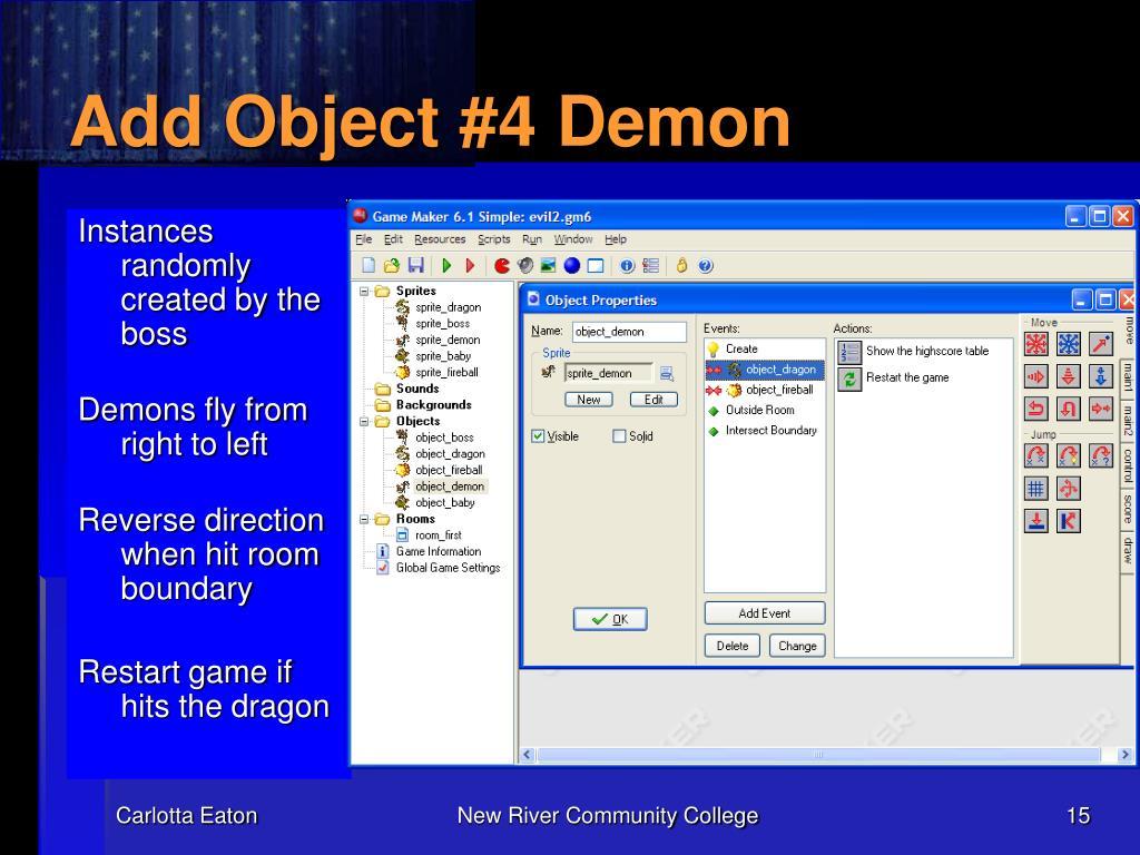 Add Object #4 Demon