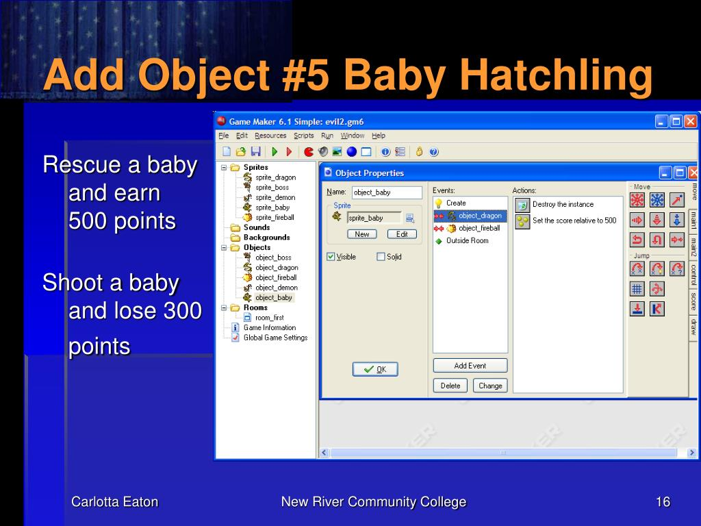 Add Object #5 Baby Hatchling