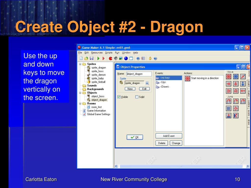 Create Object #2 - Dragon