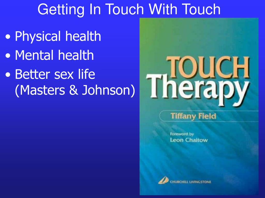 Getting In Touch With Touch