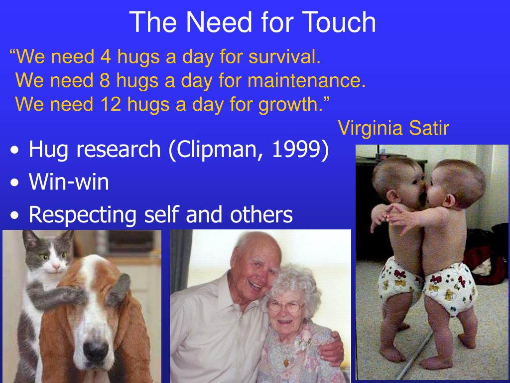 The Need for Touch