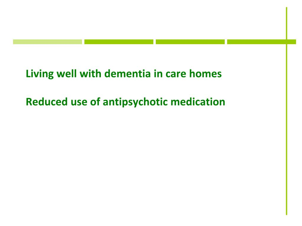 Living well with dementia in care homes
