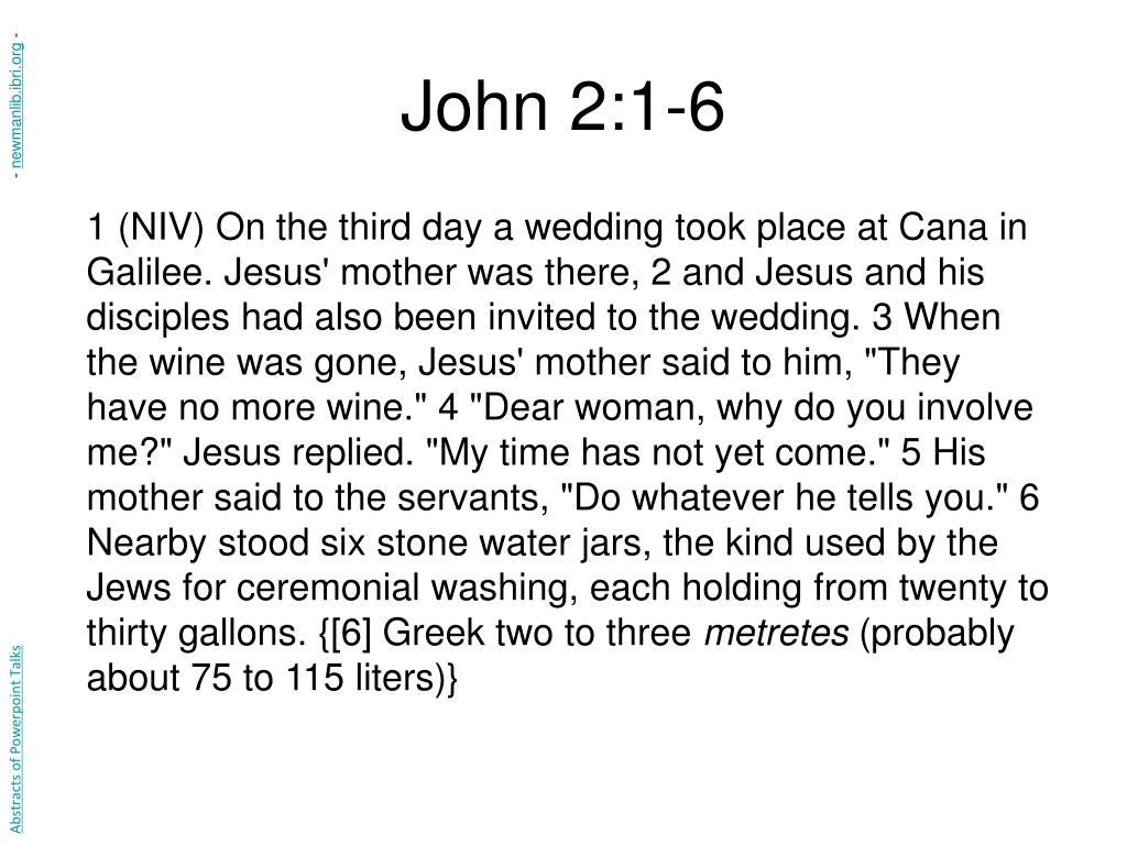 John 2:1-6