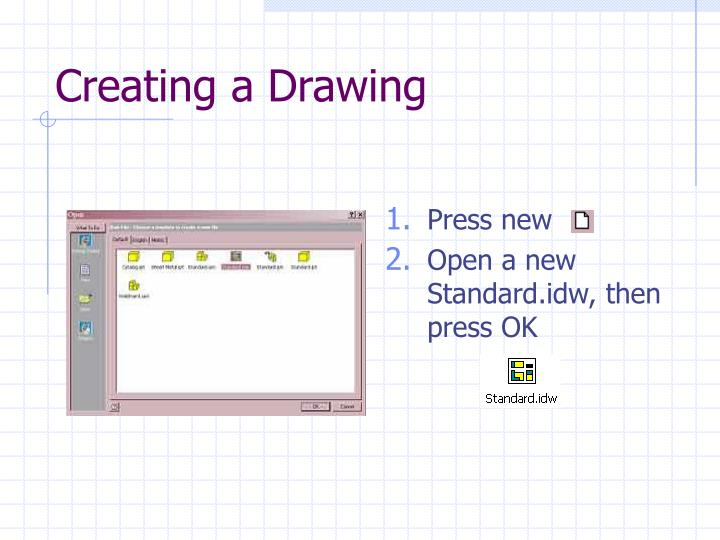 Creating a drawing