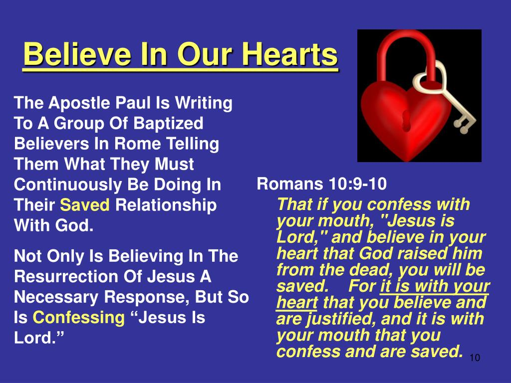Believe In Our Hearts