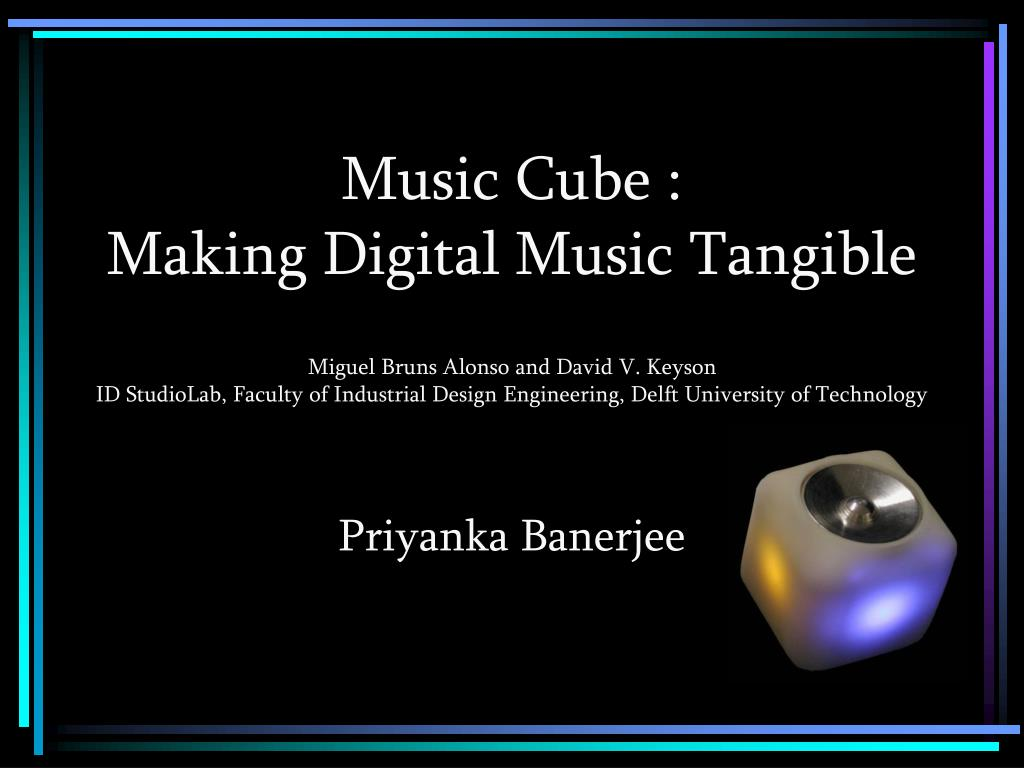Music Cube :