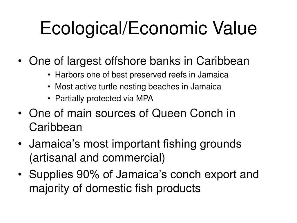 Ecological/Economic Value