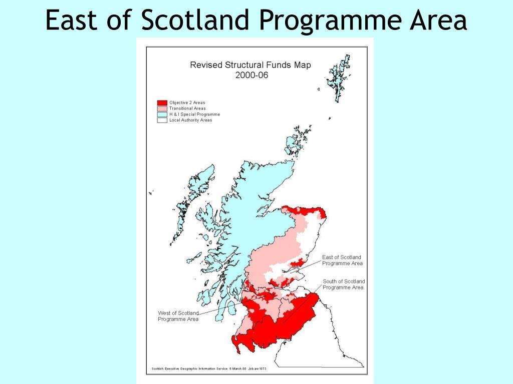 East of Scotland Programme Area