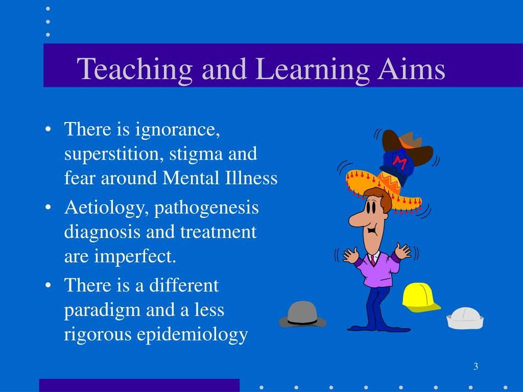 Teaching and Learning Aims