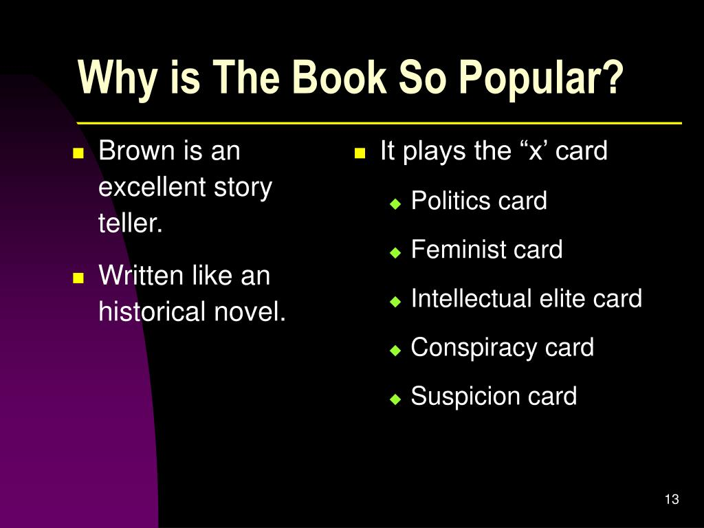 Why is The Book So Popular?