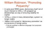 william robinson promoting polyarchy5