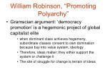 william robinson promoting polyarchy6