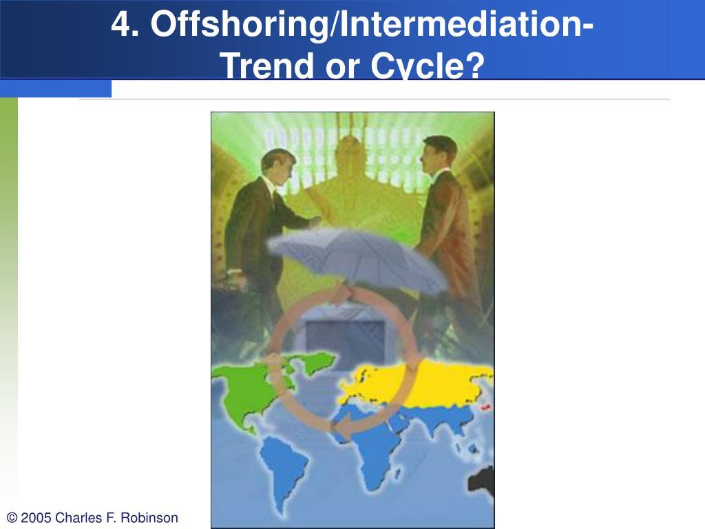 4. Offshoring/Intermediation-