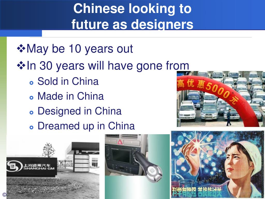 Chinese looking to