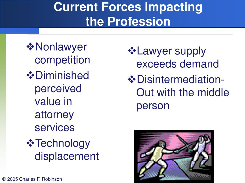 Nonlawyer competition