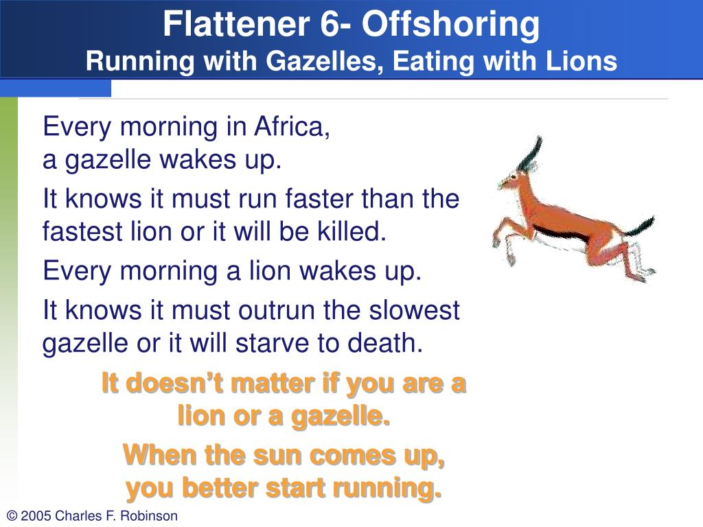 Flattener 6- Offshoring