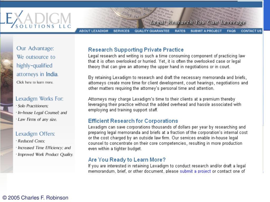 Lexadigm.com