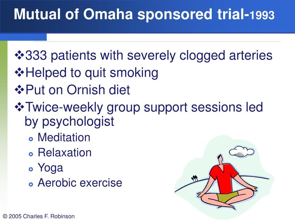 Mutual of Omaha sponsored