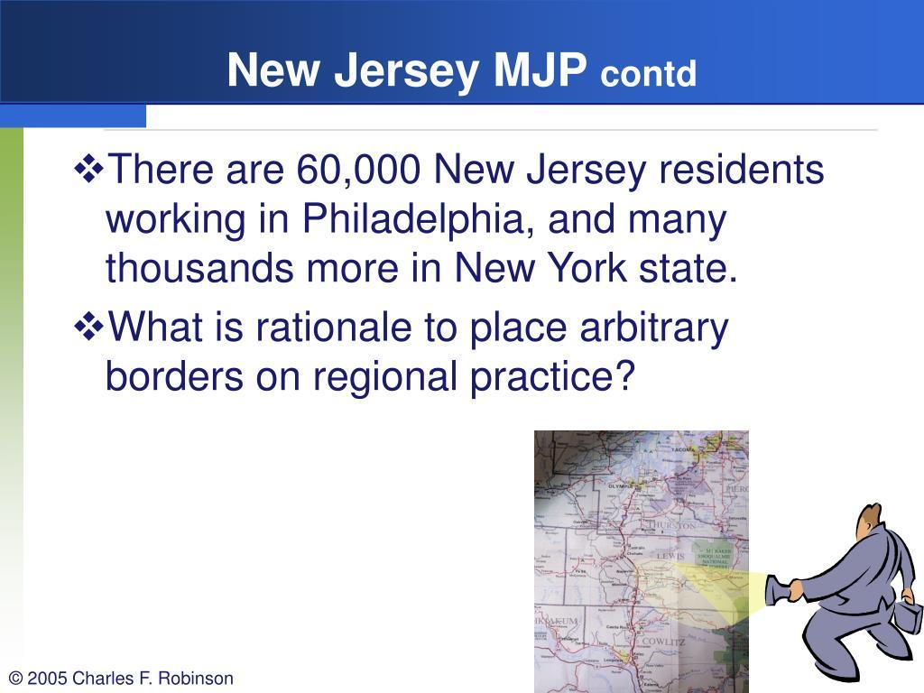 New Jersey MJP
