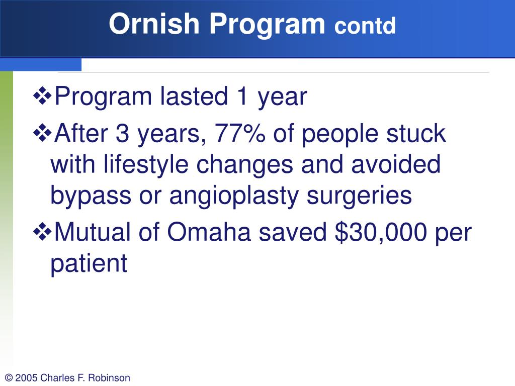 Ornish Program