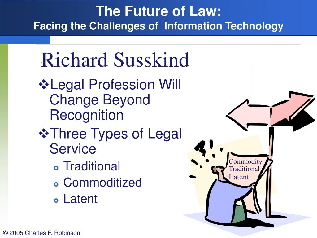 The Future of Law: